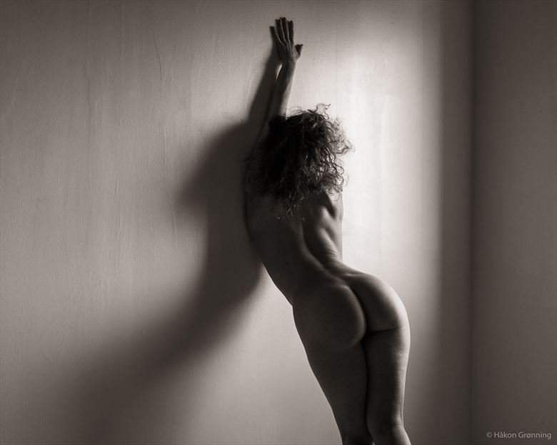 Artistic Nude Figure Study Photo by Model Loreley