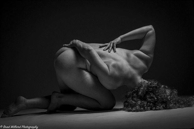 Artistic Nude Figure Study Photo by Model Madeline Reynolds