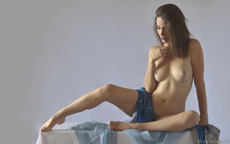 Artistic Nude Figure Study Photo by Model Mod%C3%A8le Christelle