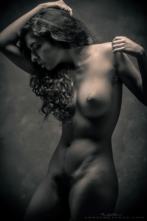 Artistic Nude Figure Study Photo by Model Monique