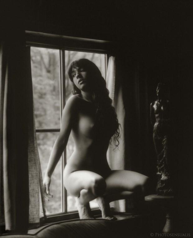 Artistic Nude Figure Study Photo by Model Monique