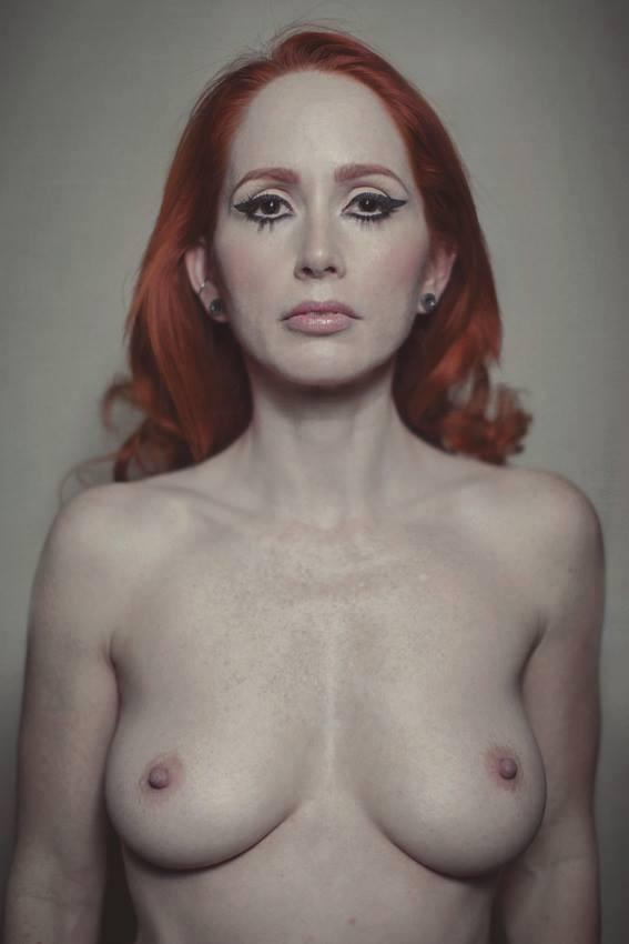 Artistic Nude Figure Study Photo by Model Nina Covington