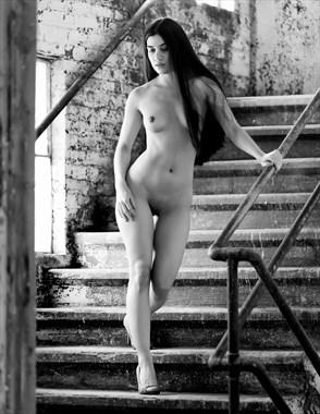 Artistic Nude Figure Study Photo by Model Noela Meida