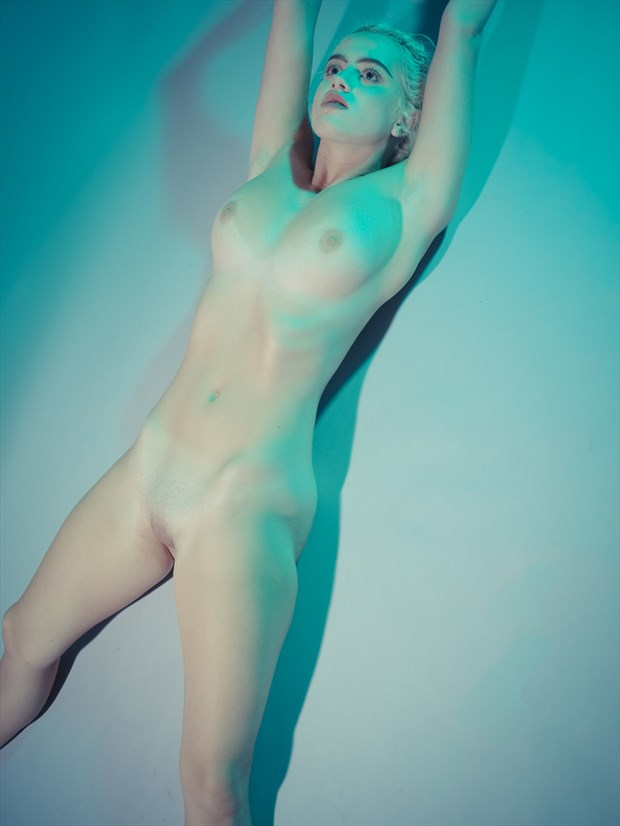 Artistic Nude Figure Study Photo by Model Peach Meadows Kennedy