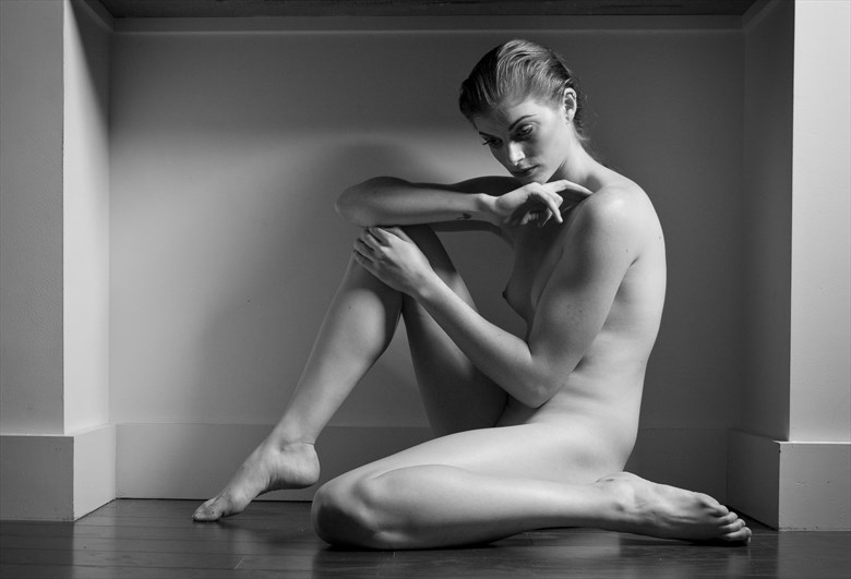 Artistic Nude Figure Study Photo by Model Rachel