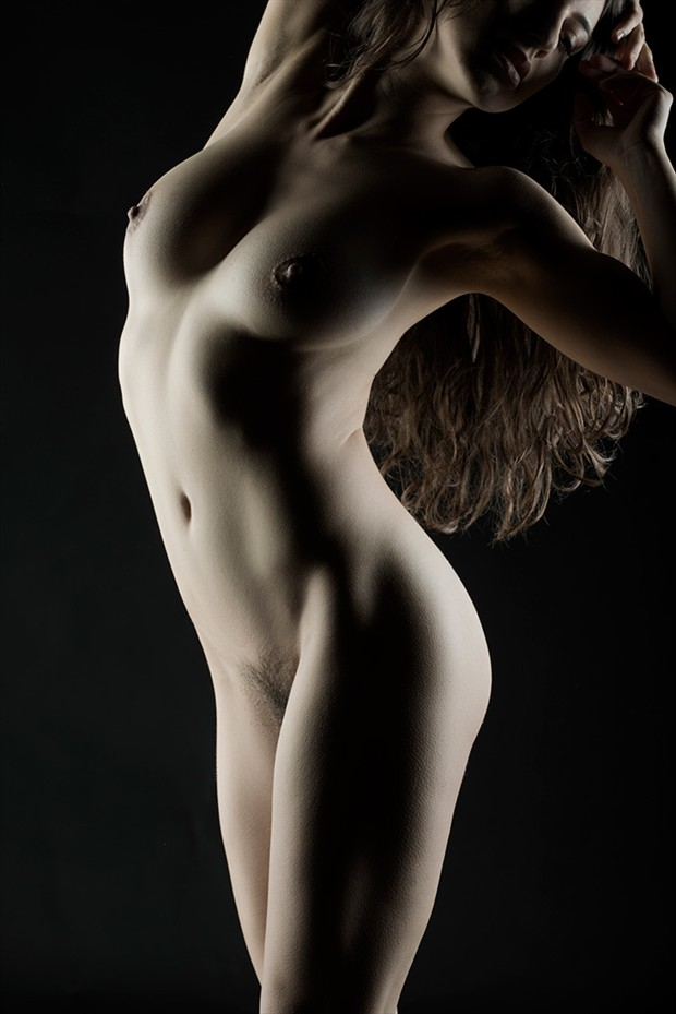 Artistic Nude Figure Study Photo by Model Sekaa