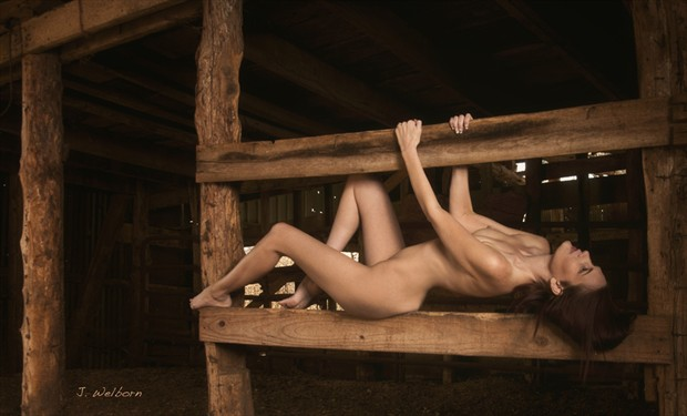 Artistic Nude Figure Study Photo by Model Southern Sweetness