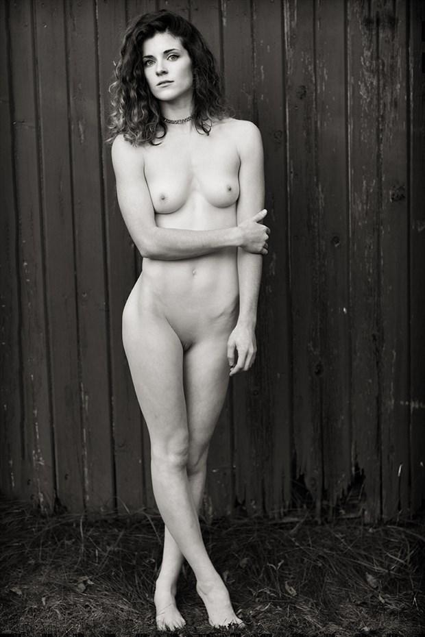 Artistic Nude Figure Study Photo by Model Stella Kat