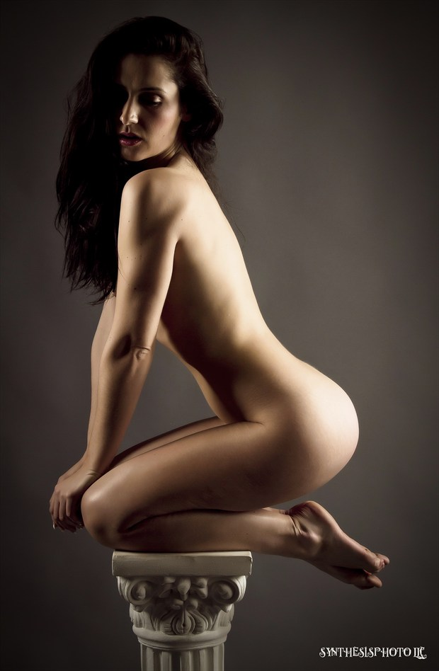 Artistic Nude Figure Study Photo by Model Tilly McReese