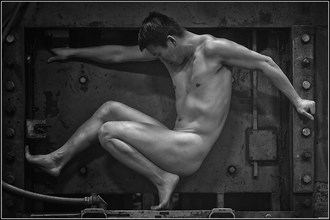 Artistic Nude Figure Study Photo by Model Vinny M