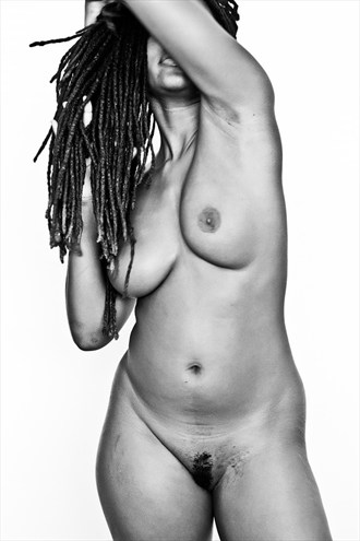 Artistic Nude Figure Study Photo by Model Voodoo Howyacall