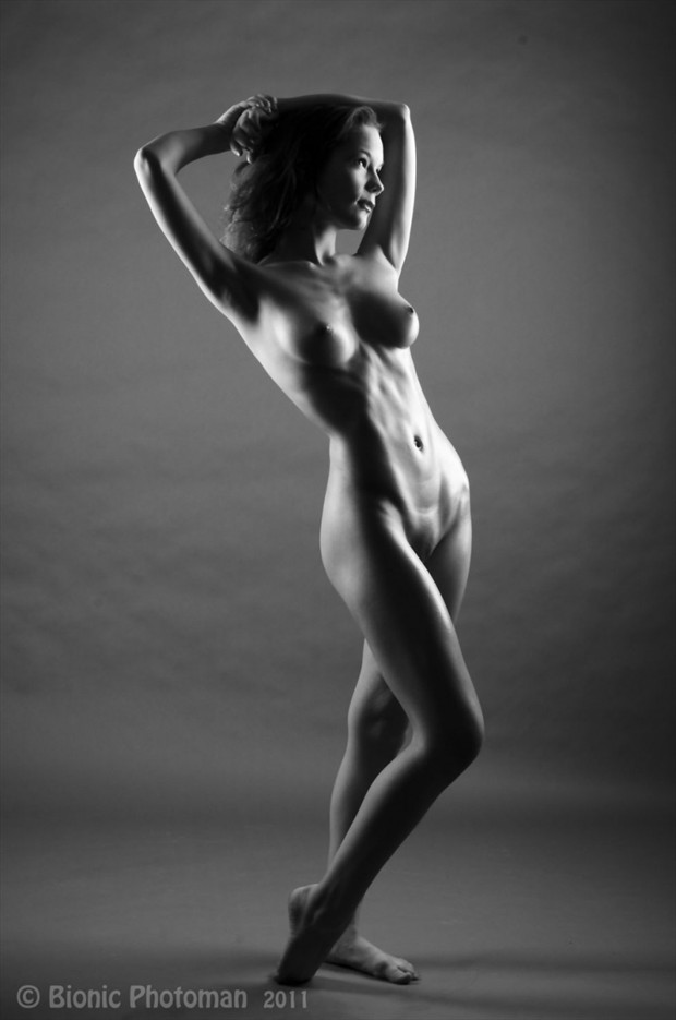 Artistic Nude Figure Study Photo by Model vik tory