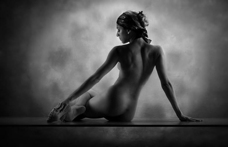 Artistic Nude Figure Study Photo by Photographer AJ Kahn