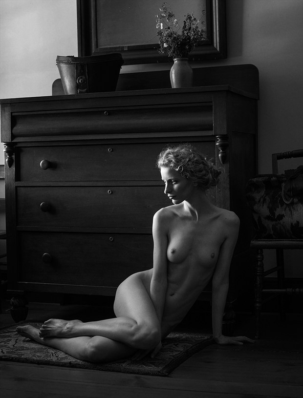 Artistic Nude Figure Study Photo by Photographer Adrian Holmes