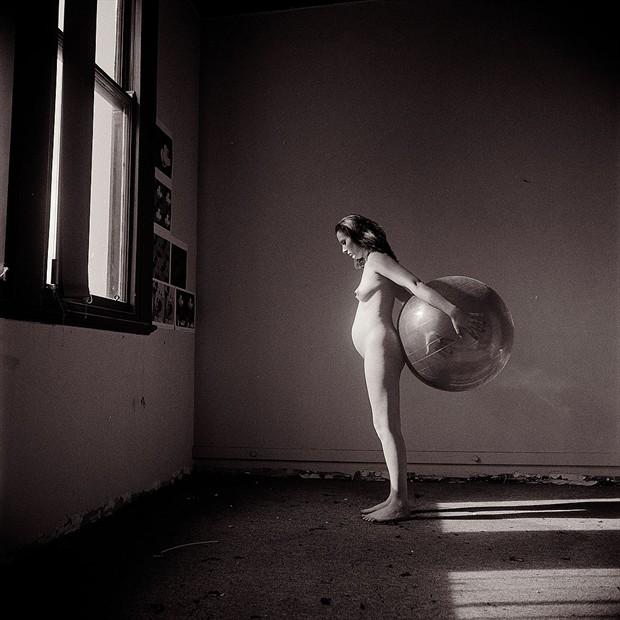 Artistic Nude Figure Study Photo by Photographer Brett Dorron