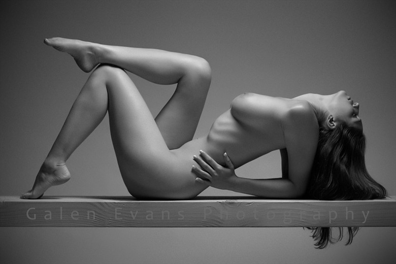 Artistic Nude Figure Study Photo by Photographer Galen Evans