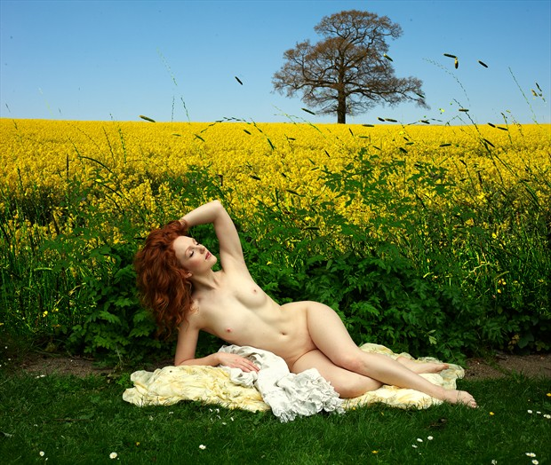 Artistic Nude Figure Study Photo by Photographer Ray Kirby