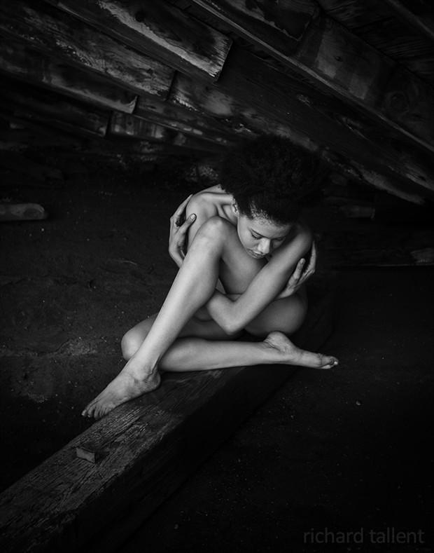 Artistic Nude Figure Study Photo by Photographer Richard Tallent