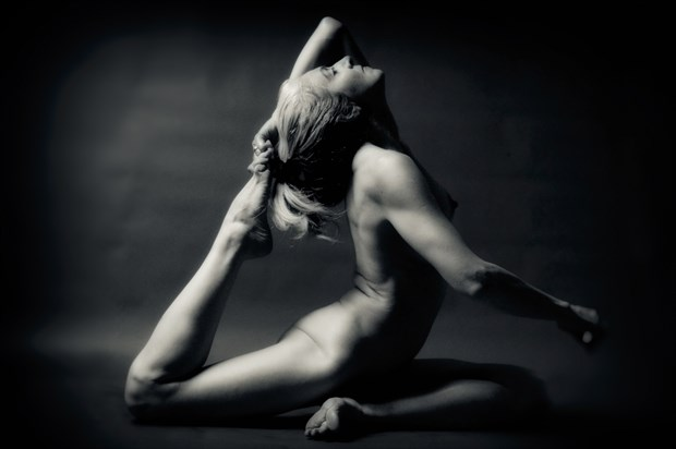 Artistic Nude Figure Study Photo by Photographer Terry Slater