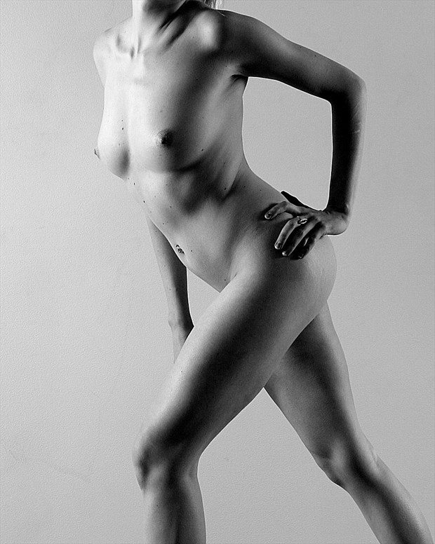 Artistic Nude Figure Study Photo by Photographer silverline images