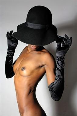 Artistic Nude Glamour Artwork by Model Gazelle