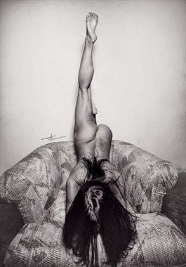 Artistic Nude Glamour Photo by Model April A McKay