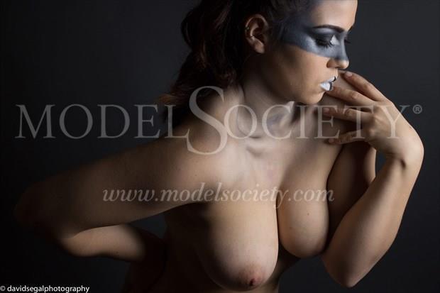 Artistic Nude Glamour Photo by Model Charlotte Dell'Acqua