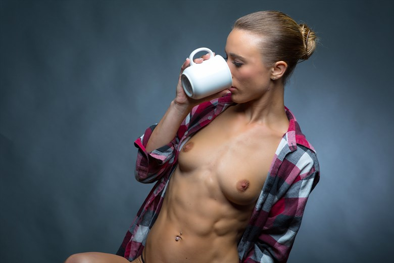 Artistic Nude Glamour Photo by Model Chelsea Jo