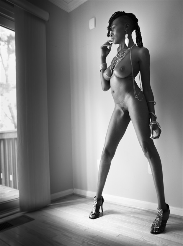 Artistic Nude Glamour Photo by Model Crimson Reign