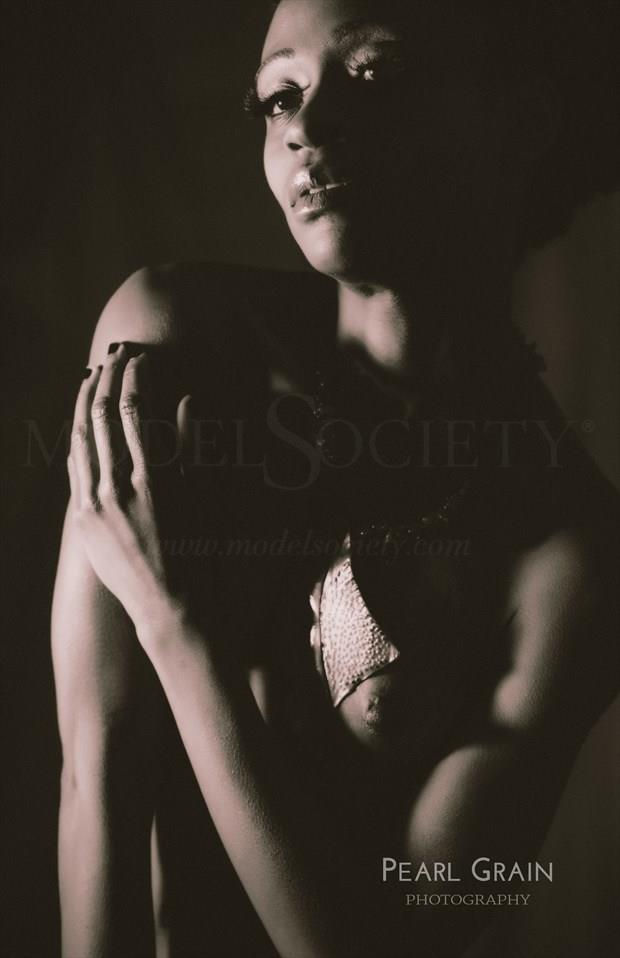 Artistic Nude Glamour Photo by Model Gazelle