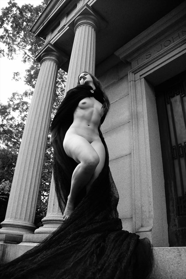 Artistic Nude Gothic Photo by Model Alandra Ivari