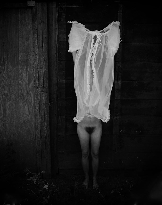 Artistic Nude Horror Artwork by Model Ursa Minor