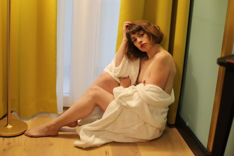 Artistic Nude Implied Nude Artwork by Model Charlotte Blanco
