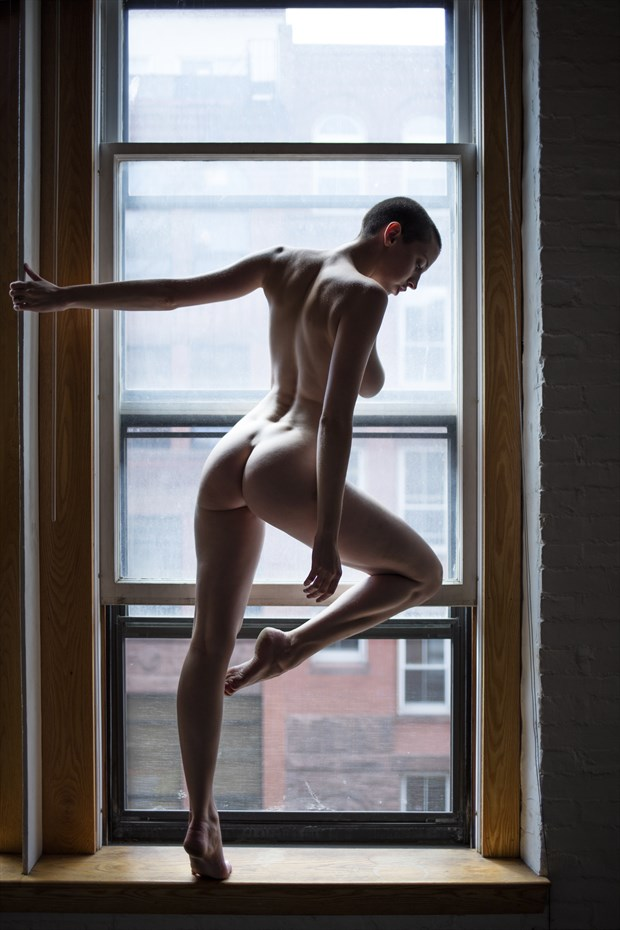 Artistic Nude Implied Nude Artwork by Model Katlin Tucker