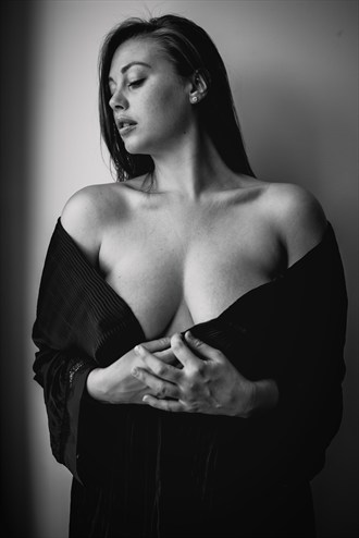 Artistic Nude Implied Nude Artwork by Model Lillias Right