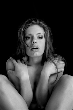 Artistic Nude Implied Nude Artwork by Model Michelle Amara