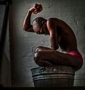 Artistic Nude Implied Nude Artwork by Model Nandi_Makeda