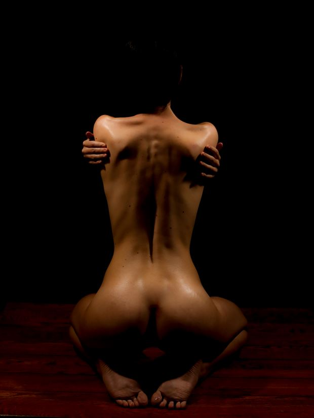 Artistic Nude Implied Nude Artwork by Model ambitious_beauty96
