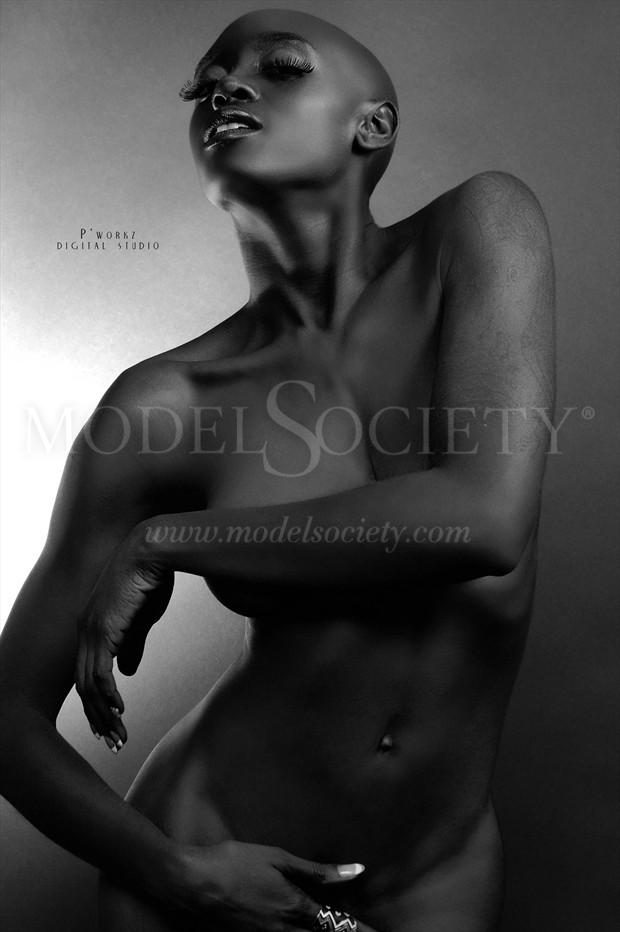 Artistic Nude Implied Nude Artwork by Photographer P'workz