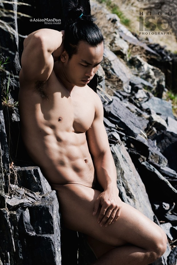 Artistic Nude Implied Nude Photo by Model @AsianManBun