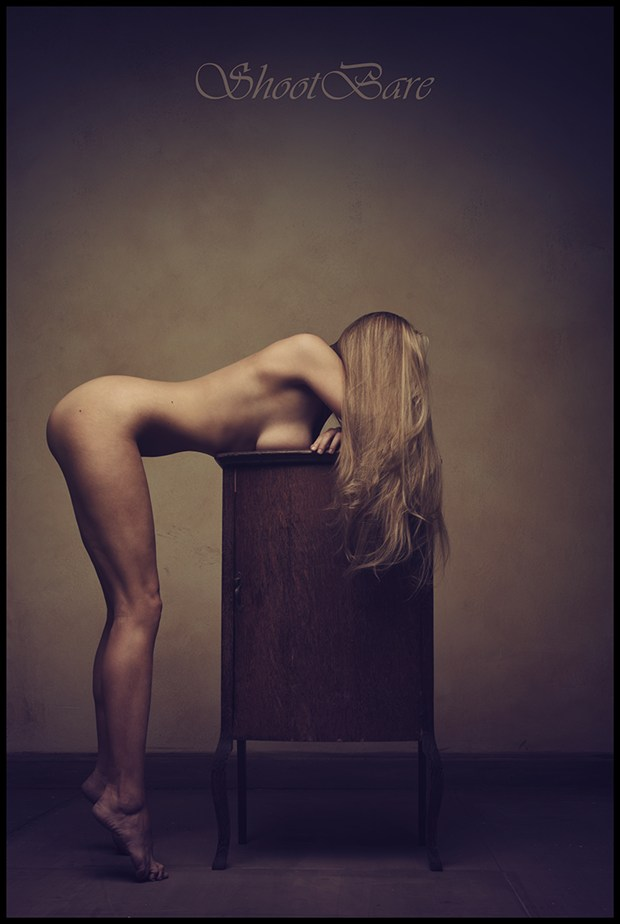 Artistic Nude Implied Nude Photo by Model Caroline Summers