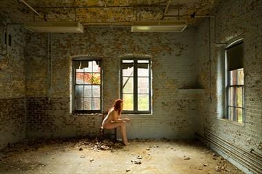 Artistic Nude Implied Nude Photo by Model Dane Halo