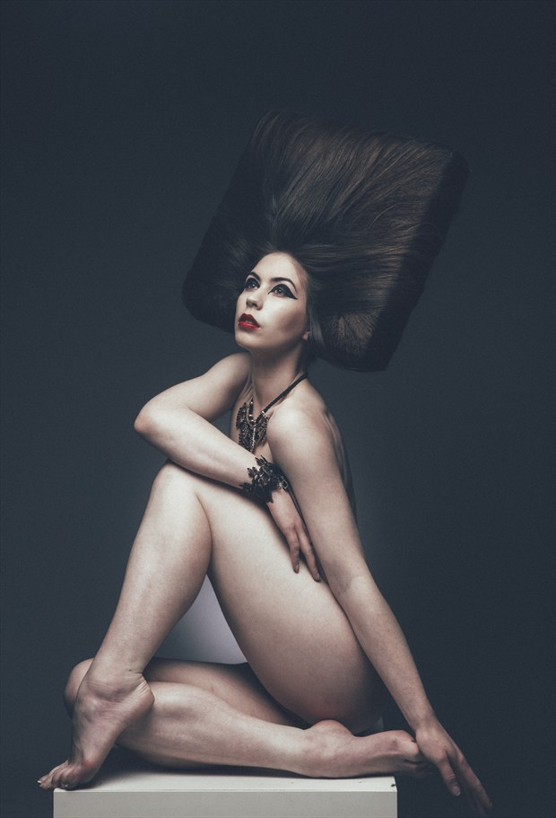 Artistic Nude Implied Nude Photo by Model Elle Beth