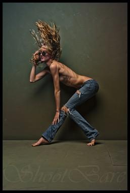 Artistic Nude Implied Nude Photo by Model Jenna Kellen