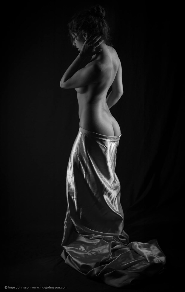 Artistic Nude Implied Nude Photo by Model Monique