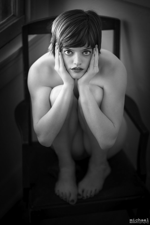 Artistic Nude Implied Nude Photo by Model Violet Pixie