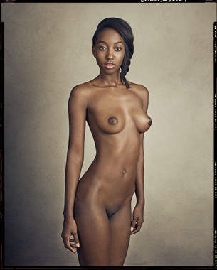 Artistic Nude Lesbian Artwork by Model Nyasia Sylvester