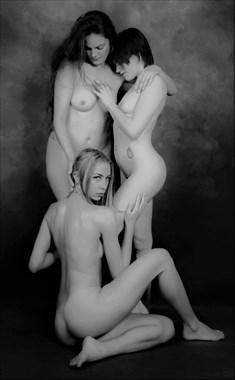 Artistic Nude Lesbian Photo by Model Lisa Everhart
