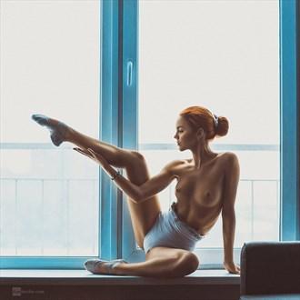 Artistic Nude Lingerie Artwork by Model KatherinSher