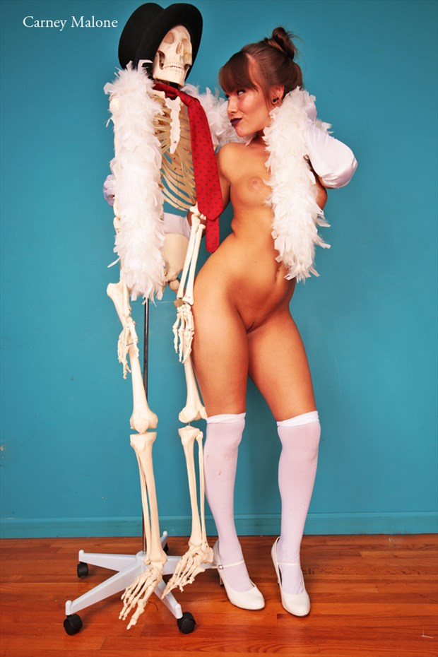 Artistic Nude Lingerie Artwork by Model Natalya Starr